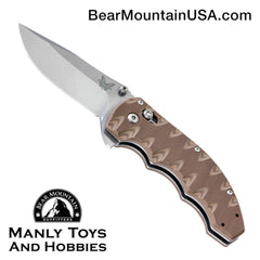 "Benchmade Ball Flipper Axis Lock Knife Sand G-10 (3.18"" Satin) 300SN"