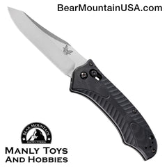 "Benchmade 9555 Rift Automatic Knife (3.67"" Satin)"