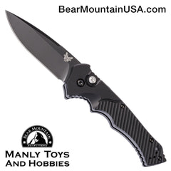 "Benchmade Rukus II Automatic Knife (3.4"" Black) 9600BK"