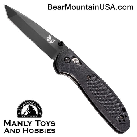 Benchmade Mini Griptilian Tanto AXIS Lock Knife (2.91