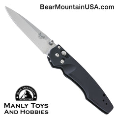 "Benchmade Emissary AXIS-Assist Knife Black (3"" Satin) 470-1"