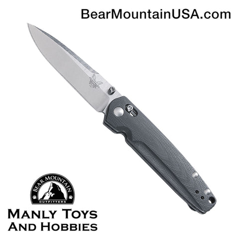Benchmade Valet AXIS Lock Knife Gray G-10 (2.96