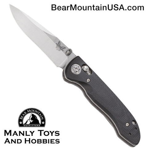 Benchmade Foray AXIS Lock Knife Black G-10 (3.24