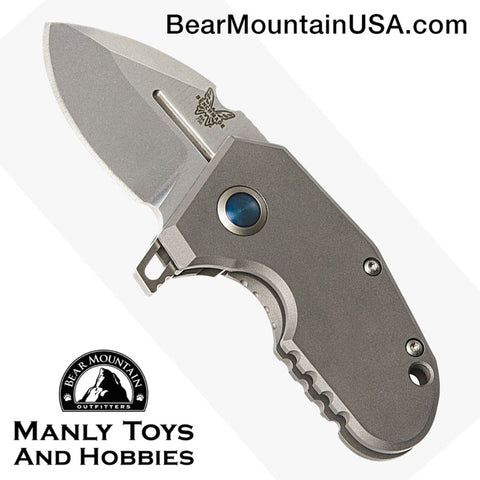 Benchmade Sibert 756 Micro Pocket Rocket Flipper Knife Titanium (1.87