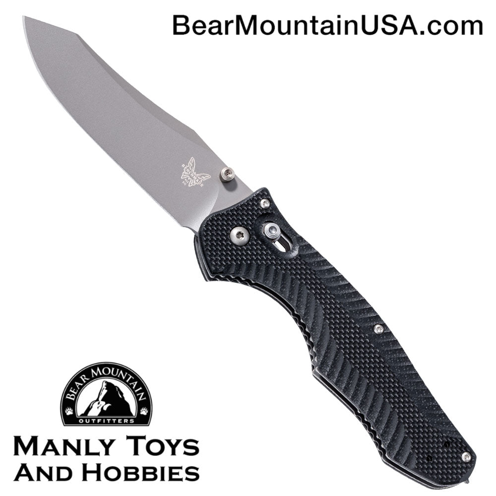 "Benchmade 810 Contego AXIS Lock Knife (3.98"" Gray)"