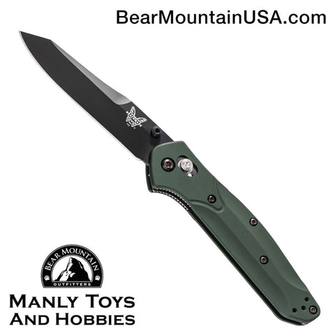 Benchmade 940 Osborne AXIS Lock Knife Green (3.4
