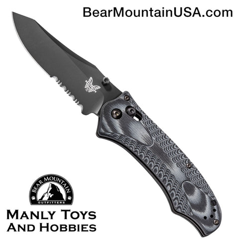 Benchmade 950SBK Rift Osborne Folding Knife (3.67