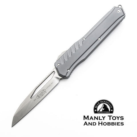 Microtech Cypher MK7 SE OTF with Satin Finish and Standard Hardware 241M-10GY