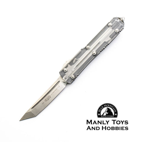 Microtech Ultratech T/E OTF Automatic Knife Clear Top CC 123-10CL