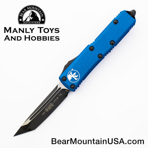 Microtech UTX-85 OTF Automatic Knife 233-1BL BLUE