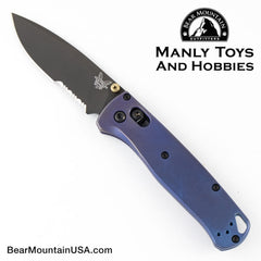 "Benchmade 4400-1 Casbah Automatic Knife Blue Grivory (3.4"" Satin)"