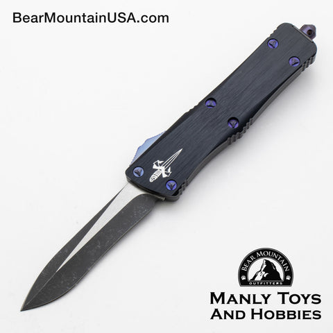Marfione Custom Troodon Dark Matter Recurve With Purple Haze Titanium Hardware.   Serial Number 11