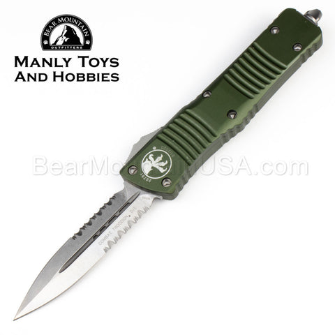 Microtech Combat Troodon D/E Stonewashed 142-11 OD