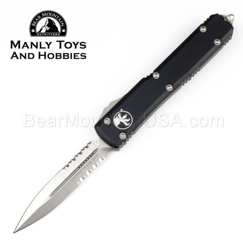 Microtech Ultratech OTF Automatic Knife Black 122-5