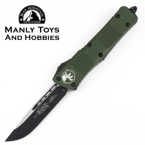 Microtech Combat Troodon S/E OTF Automatic Knife Black Blade (3.8