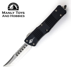 Microtech Combat Troodon Signature Series Hellhound With Stonewash CTS-204P