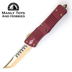 Microtech Combat Troodon Signature Series Hellhound Cerakote with Bronzed CTS-204P 219-13 MR 1