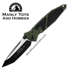 Microtech Socom Elite Manual Folder Tanto in 204P 161-1 TA OD