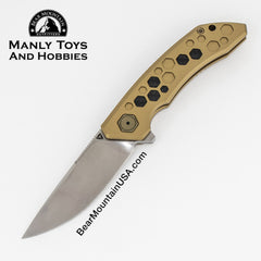 TUYAKNIFES HIVE With M390 And 6AL4V Titanium Handle tactical flipper, edc knife, survival knife, pocket knife,