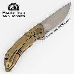 TUYAKNIFES HIVE With M390 And 6AL4V Titanium Handle tactical flipper, edc knife, survival knife, pocket knife, 2