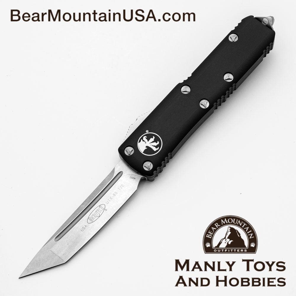 Microtech UTX-85 S/E OTF Automatic Knife 231-5 Tanto Clean Edge