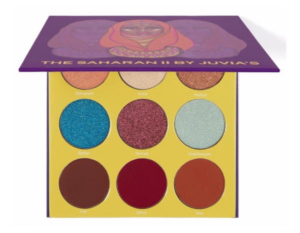 The Saharan II Eyeshadow Palette