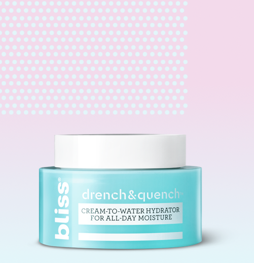 Drench & Quench Cream-to-water Hydrator for All Day Moisture
