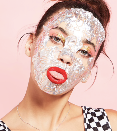 Holographic Foil Sheet Mask