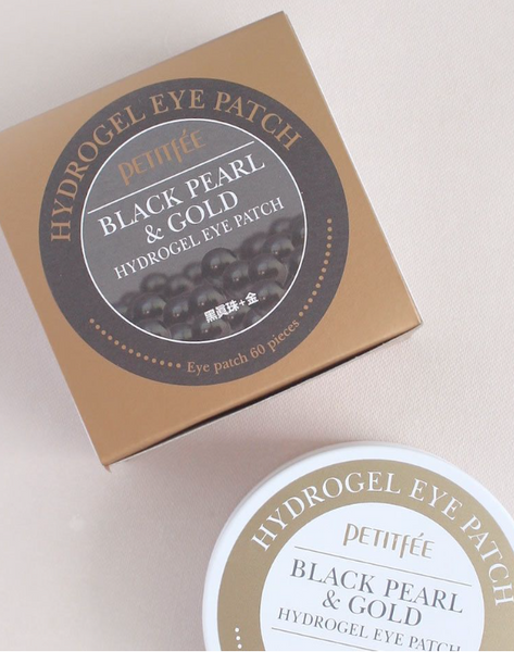 BLACK PEARL & GOLD HYDROGEL EYE PATCH (60 PATCHES)