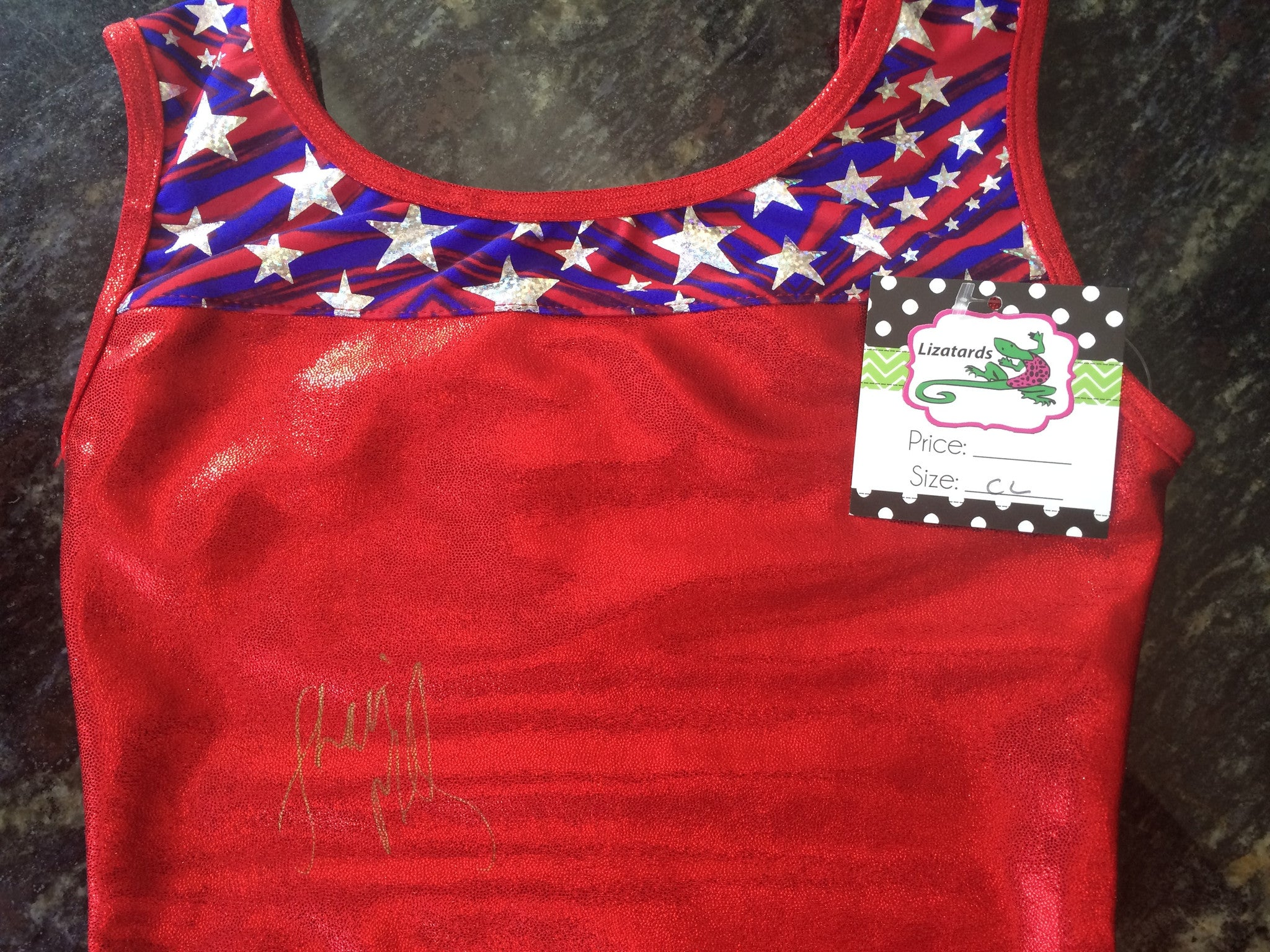 Giveaway--Leotard Autographed by Shannon Miller