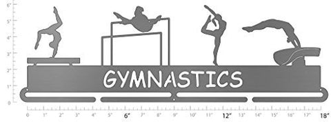 girls gymnastics medal hanger