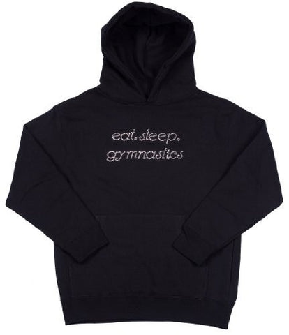 black gymnastics sweatshirt