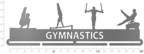 men gymnastics medal hanger