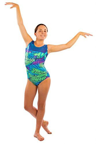 butterfly gymnastics leotard