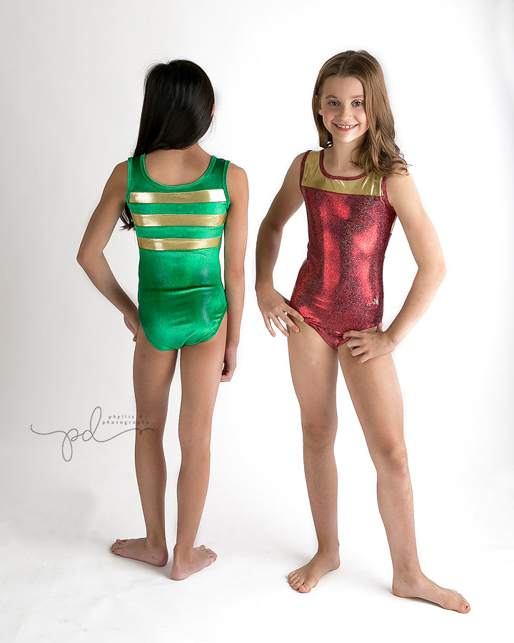California Fire Holiday Leotards