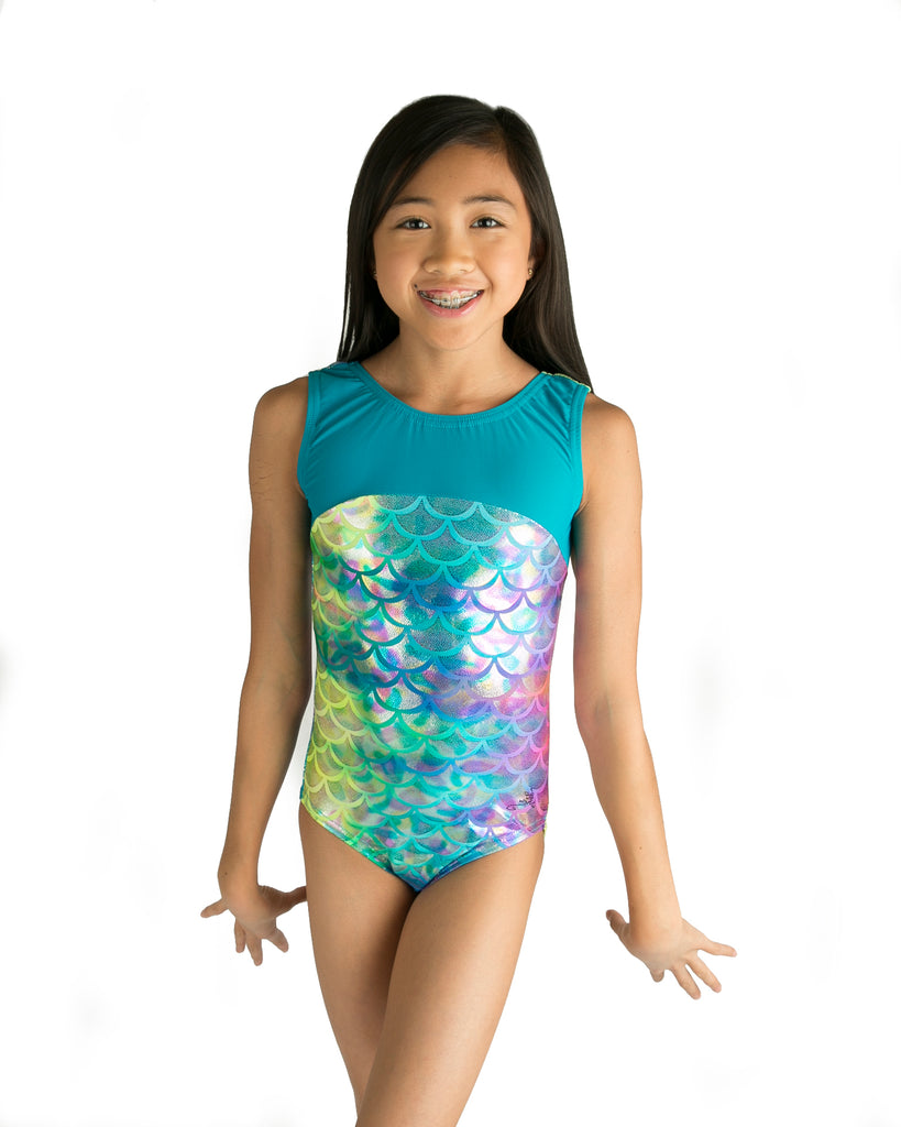 Lizatards Leotard Mermaid with Bow Back