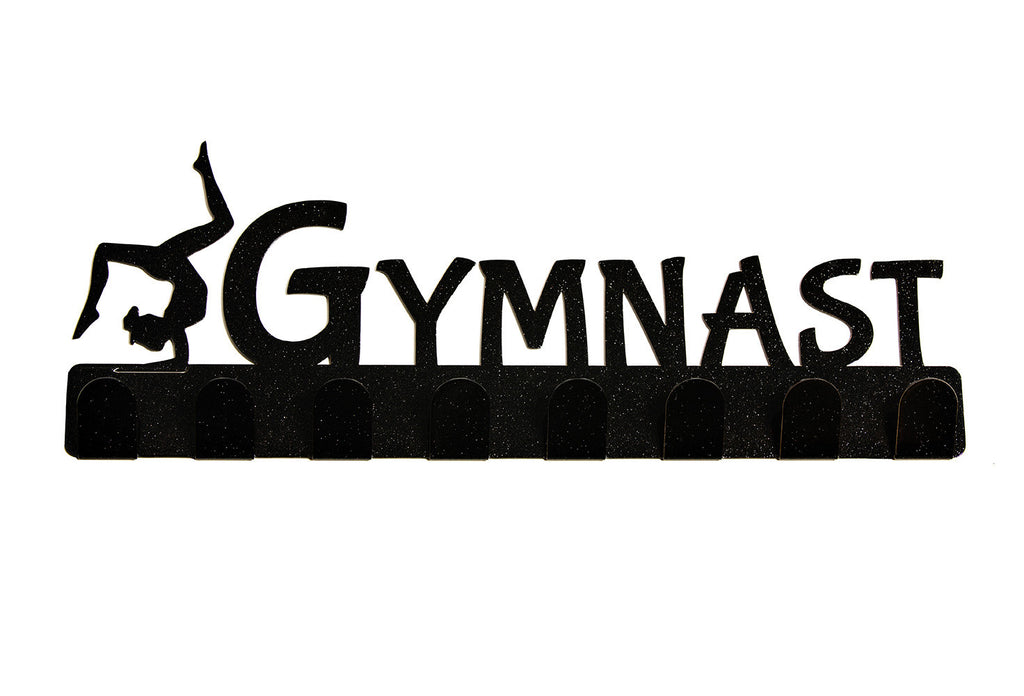 Lizatards 'Gymnast' Medal Rack Hanger