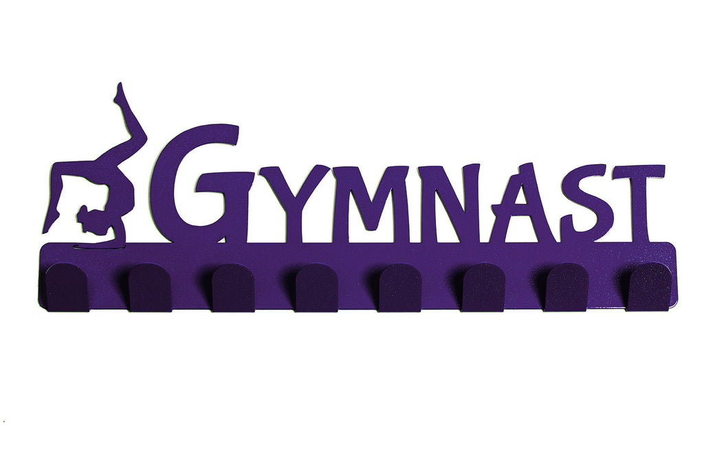 Lizatards 'Gymnast' Medal Rack Hanger- Now in PINK