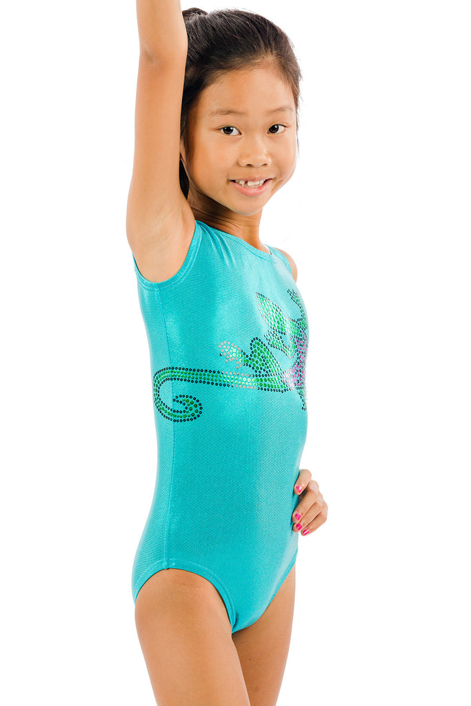 Lucky Lizard Leotard in Two Colors!