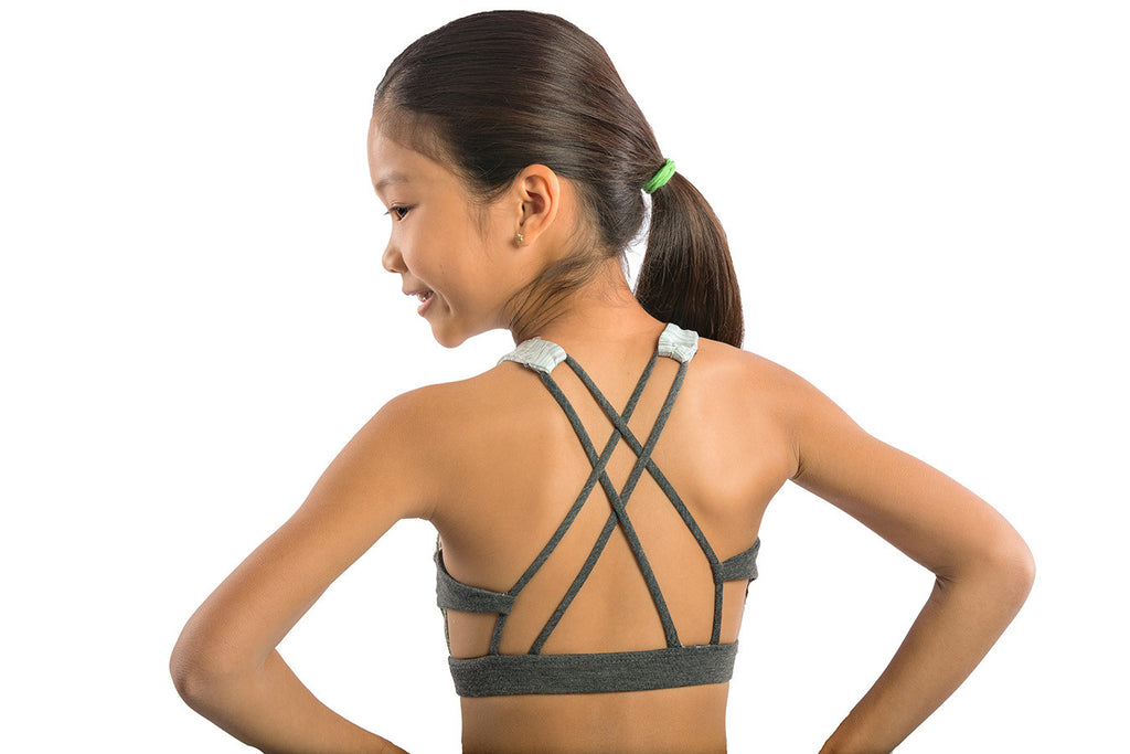 space dye sports bra top