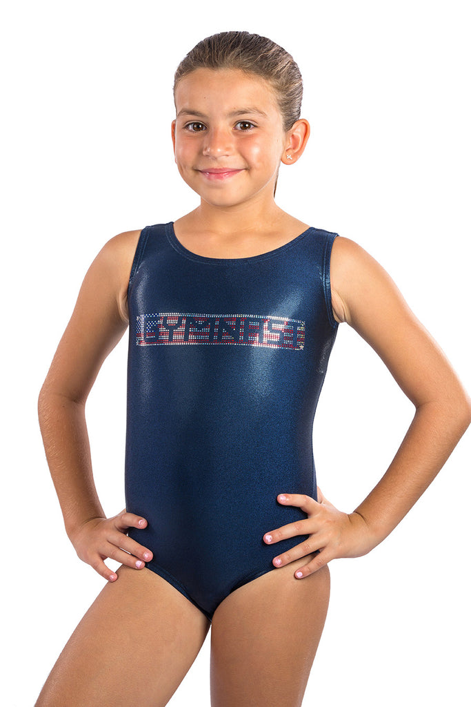 Lizatards GYMNAST with Spangles Heat Transfer Wholesale Pricing