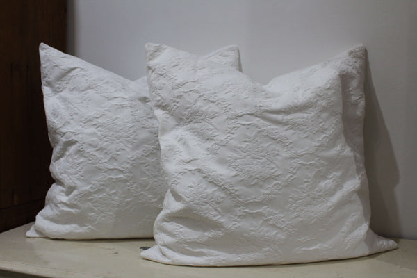Handmade Antique Linen Cushions