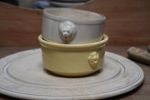 Antique French Soup Bowls