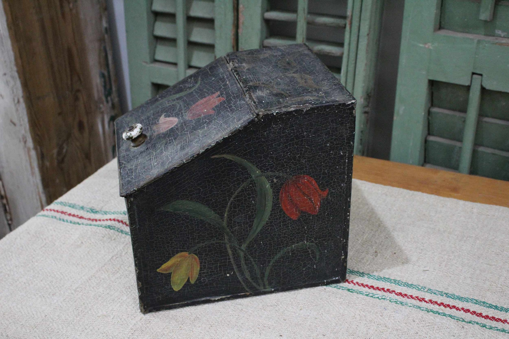 Antique Toleware Pieces