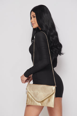 Image of Gold Envelope Purse