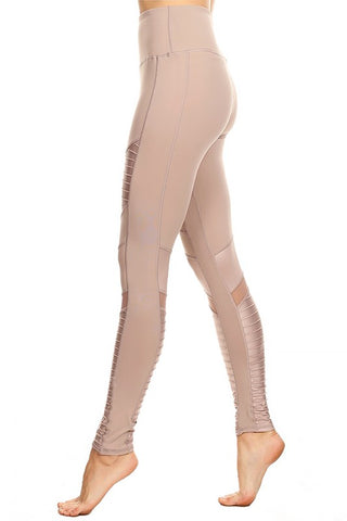Metallic Accent Leggings