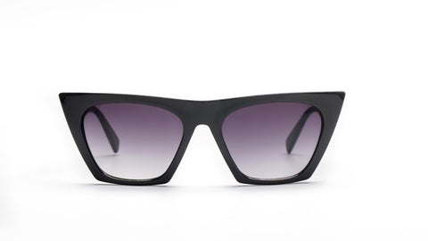 Image of Black Cat Eye Sunglasses