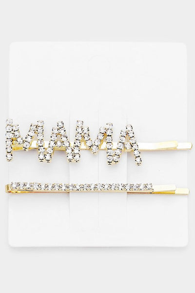 2-Piece Mama Hair Pin Set