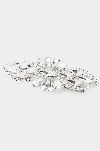 Image of Crystal Flower Hair Clip