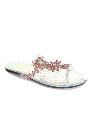 Image of Iridescent Crystal Sandals